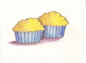Corn muffins. With chili.